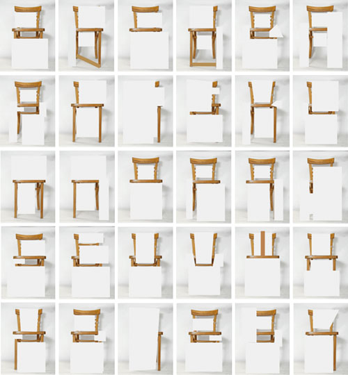 A to Z of Chairs