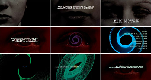 Vertigo title sequence