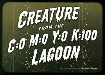 Creature from the CMYK Lagoon