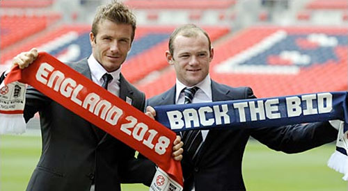 England United Beckham and Rooney
