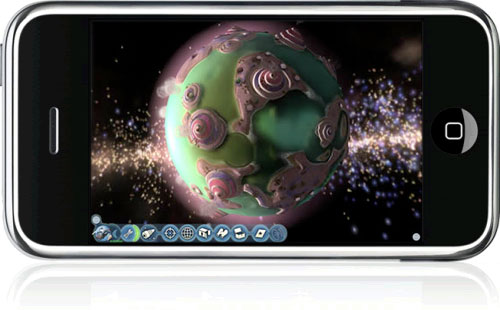 Spore on iPhone
