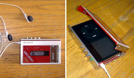 Sony Walkman iPod disguise